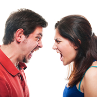 We don't really get on. (Phrasal verbs for describing relationships)