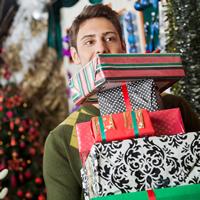 shopping festive