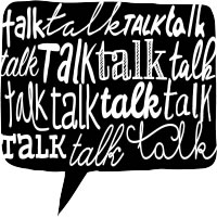 talk about talking