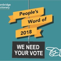 People's Word of 2018: Cast your vote!