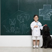 I'm hoping to become a vet: talking about our future lives